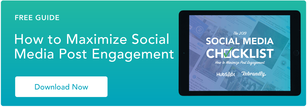 Maximize Social Media Engagement