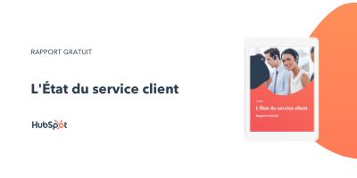 Slide-in-CTA : L'Etat du service client