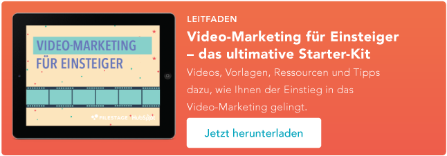 Starter-Kit Video Marketing