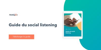Guide du social listening