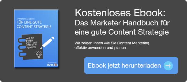 Marketer Handbuch: Content Planung