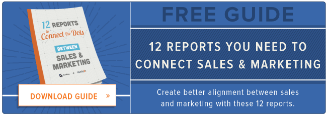 download: reports to connect sales and marketing