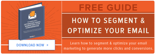 free guide to optimizing and segmenting email
