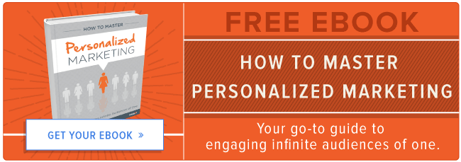 download your free marketing personalization ebook