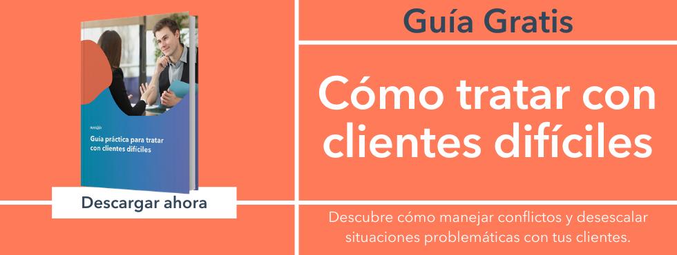 Tácticas y recomendaciones para manejar conflictos y desescalar situaciones problématicas con tus clientes de forma efectiva y profesional.