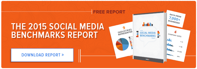 The 2015 Social Media Benchmarks Report