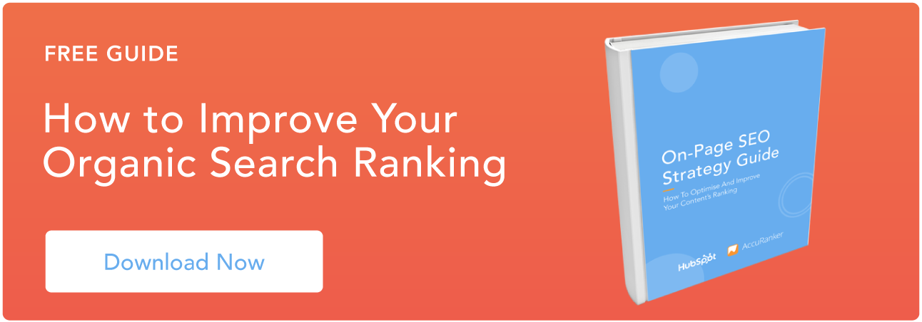 Improve your organic search ranking