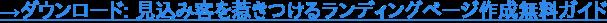 →ダウンロード: 見込み客を惹きつけるランディングページ作成無料ガイド