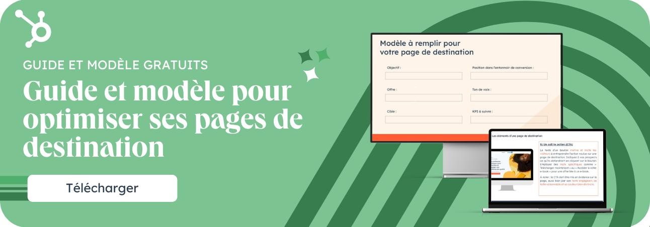 Comment optimiser une page de destination pour la génération de leads