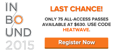 $630 INBOUND 2015 All-Access Pass