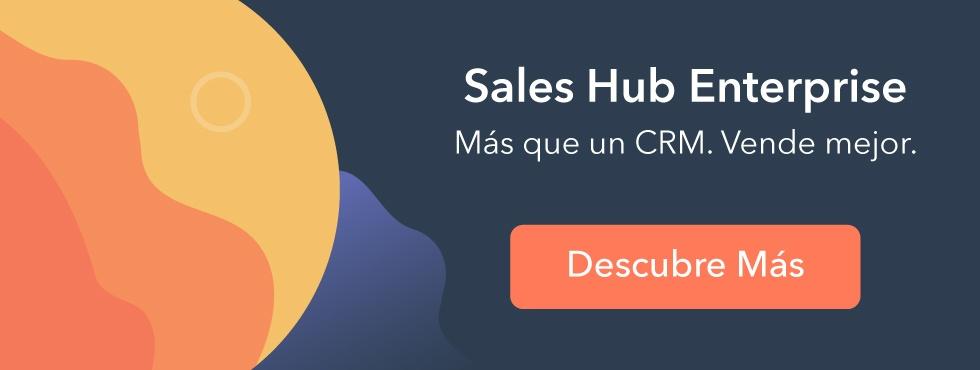 Descubre Sales Hub Enterprise