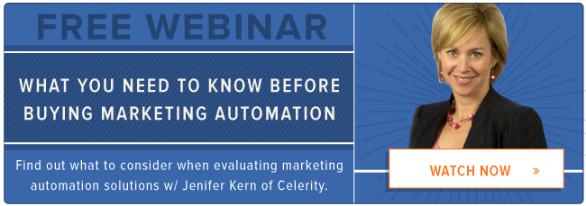 free webinar: marketing automation