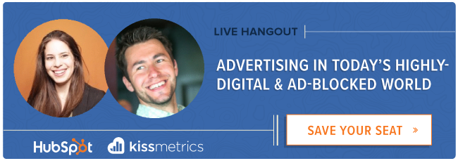 live Hangout: how to advertise effectively