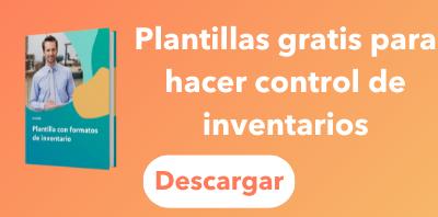 Plantillas gratis para hacer control de inventarios