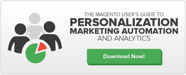 Magento Ecommerce Marketing Automation Personalization Analytics