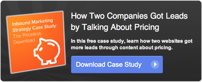 pricing case study cta