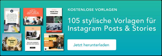 Instagram Templates zum Download