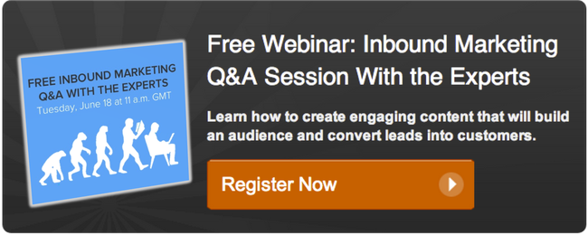 free inbound marketing webinar