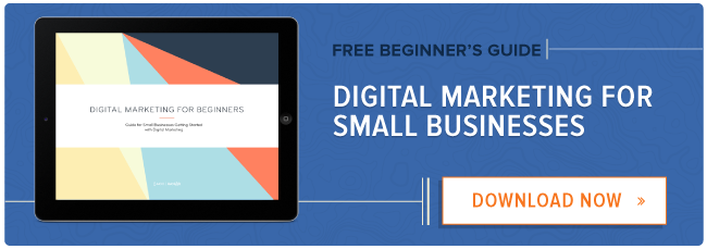 free ebook: digital marketing for small businesses