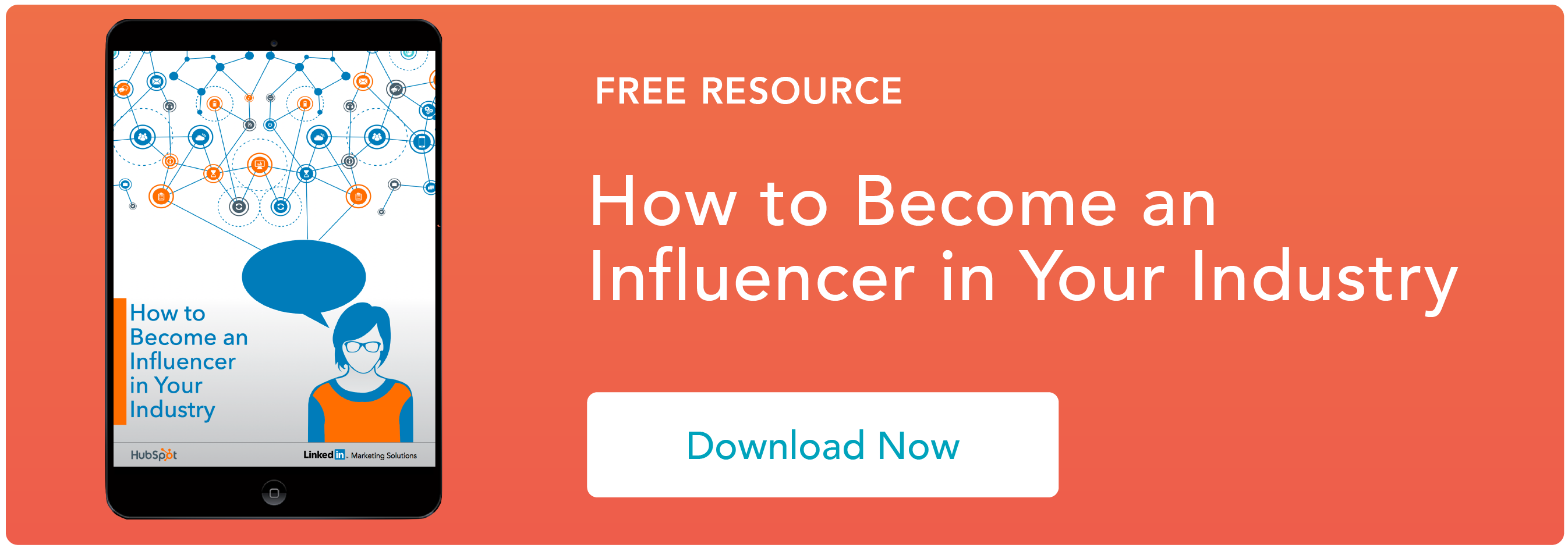 How to Become an Influencer in Your Industry Ebook