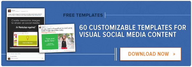 How to make visual content for social media in 5 minutes free download 60 customizable social media graphic templates pronofoot35fo Gallery