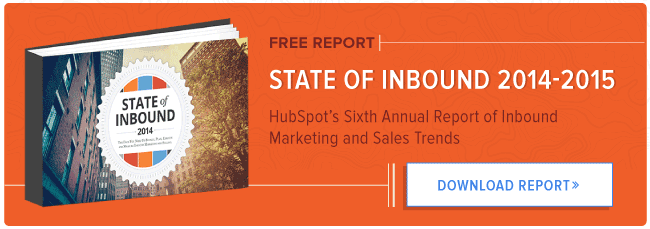 download the 2014-2015 state of inbound report