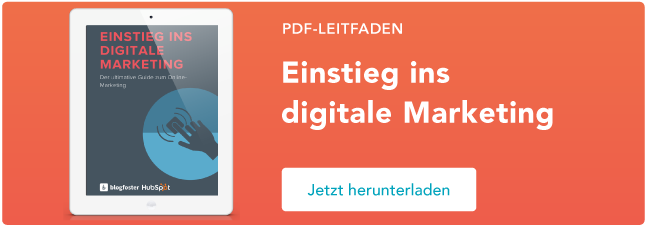 HubSpot – Warum digitales Marketing? – Kostenloses E-Book