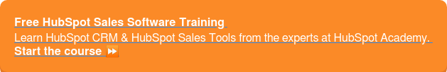 Free HubSpot Sales Software Training Learn HubSpot CRM & HubSpot Sales Tools from the experts at HubSpot Academy.