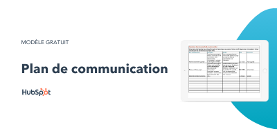 Slide-in-CTA : Plan de communication