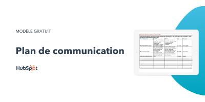 Slide-in-CTA : Plan de communication
