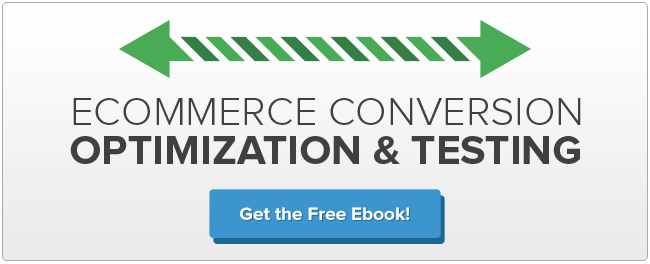 Ecommerce Conversion Optimization and Testing