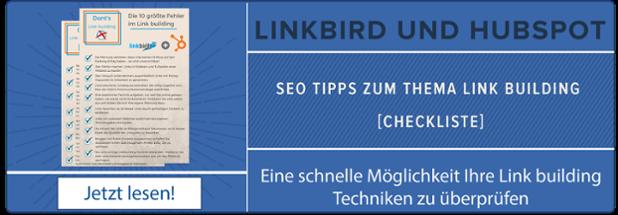 Link Building Checkliste zum herunterladen