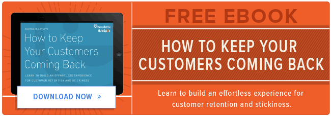 free customer retention ebook