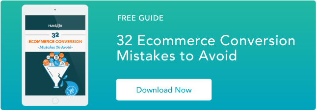 Ecommerce conversion mistakes