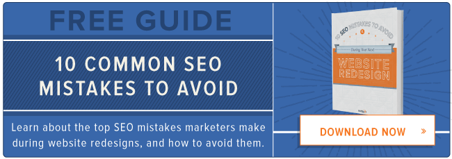 free guide: common SEO mistakes