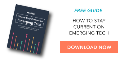 Guide Stay Current on Emerging Tech