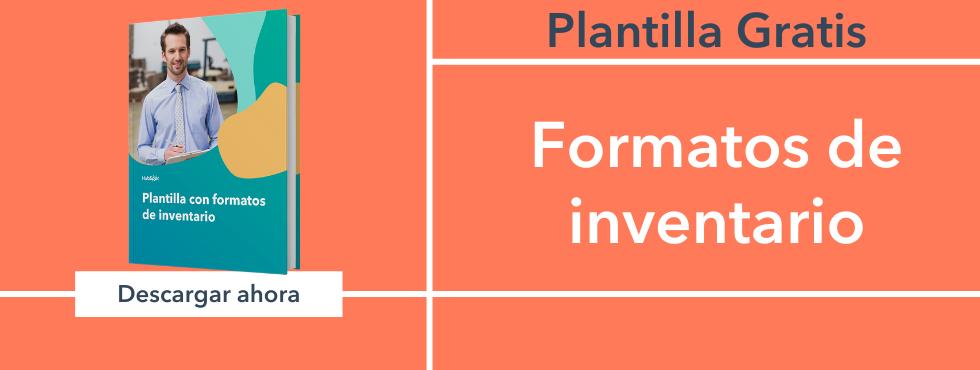 Cómo hacer formatos de inventario en excel