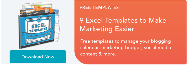 Free Download Excel Templates