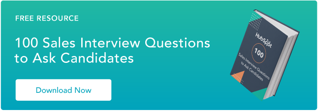 Sales Interview Questions Resource