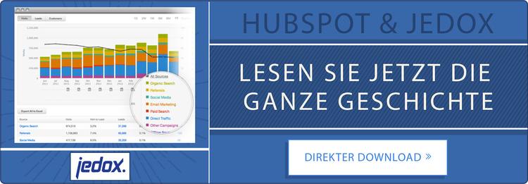 Jedox und HubSpot Kundenbeispiel. Jetzt herunterladen