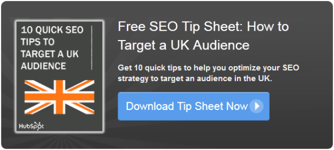 uk seo tip sheet