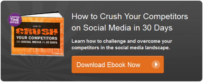 crush competitors social media