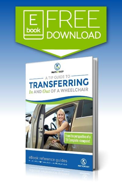 Helpful tips - Guide to transferring in and out of a wheelchair