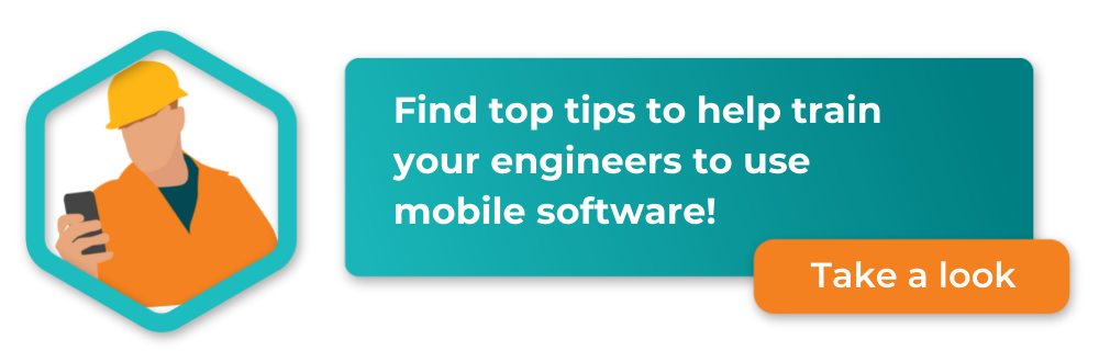 tips for training engineers to use mobile software, download your guide