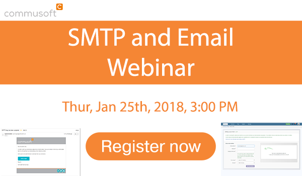 Commusoft SMTP and email Webinar