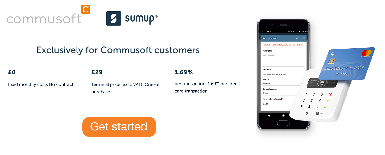 SumUp commusoft promotion