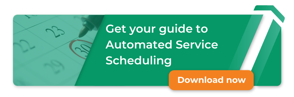 scheduling automation: best practices for fire & security, take your first steps toward automation, free download, image of two books and a lightbulb to the right
