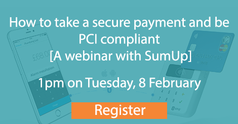 SumUp and commusoft webinar link