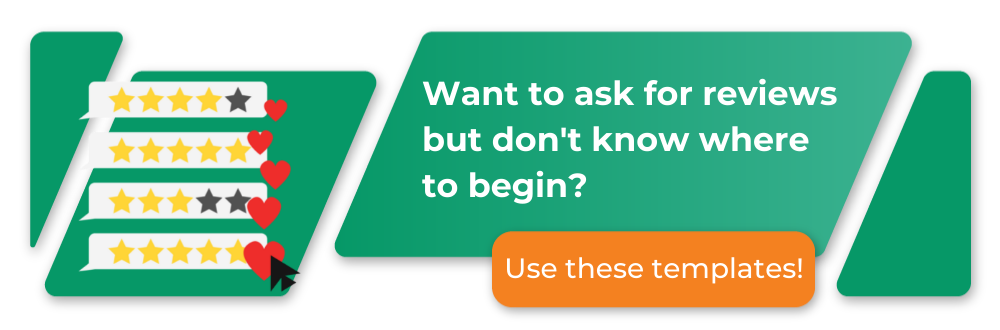 want to ask for a review, but don't know where to begin? Download our email template to help!