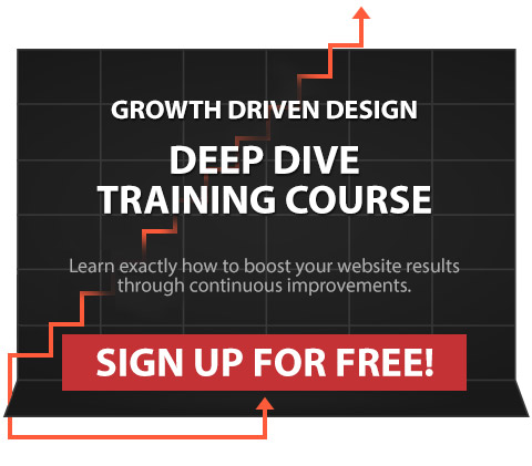 Learn Growth Driven Design - Free Training Course